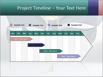 Airy Black Dress PowerPoint Templates - Slide 25
