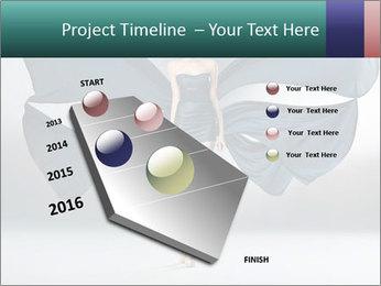 Airy Black Dress PowerPoint Templates - Slide 26