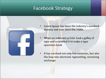 Airy Black Dress PowerPoint Templates - Slide 6