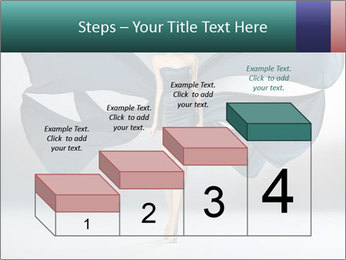 Airy Black Dress PowerPoint Templates - Slide 64