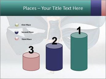 Airy Black Dress PowerPoint Templates - Slide 65