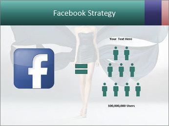 Airy Black Dress PowerPoint Templates - Slide 7