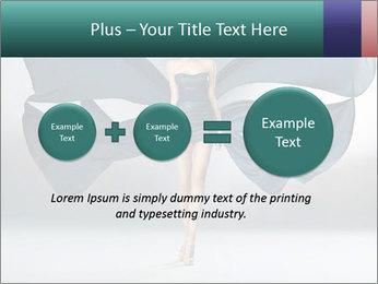 Airy Black Dress PowerPoint Templates - Slide 75