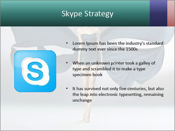 Airy Black Dress PowerPoint Templates - Slide 8