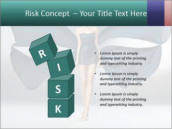 Airy Black Dress PowerPoint Templates - Slide 81