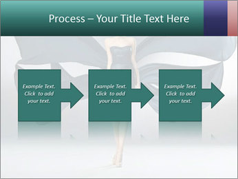 Airy Black Dress PowerPoint Templates - Slide 88