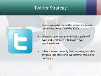 Airy Black Dress PowerPoint Templates - Slide 9