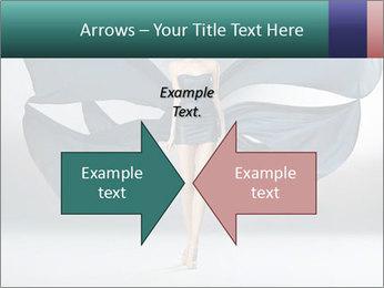 Airy Black Dress PowerPoint Templates - Slide 90