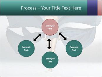 Airy Black Dress PowerPoint Templates - Slide 91