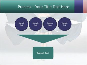 Airy Black Dress PowerPoint Template - Slide 93