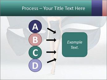 Airy Black Dress PowerPoint Templates - Slide 94