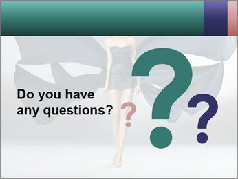 Airy Black Dress PowerPoint Template - Slide 96