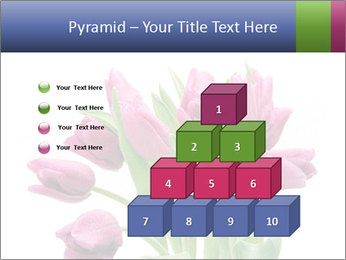 Bouquet of Purple Tulips PowerPoint Templates - Slide 31