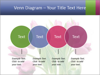Bouquet of Purple Tulips PowerPoint Templates - Slide 32