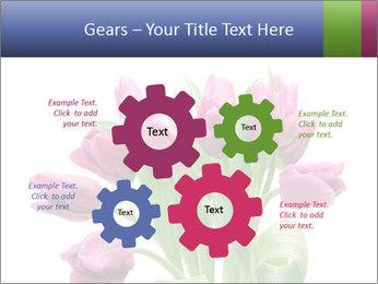 Bouquet of Purple Tulips PowerPoint Templates - Slide 47