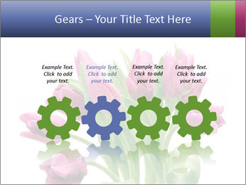 Bouquet of Purple Tulips PowerPoint Templates - Slide 48