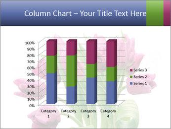 Bouquet of Purple Tulips PowerPoint Templates - Slide 50