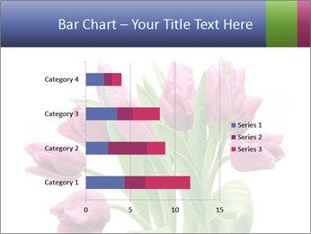 Bouquet of Purple Tulips PowerPoint Templates - Slide 52