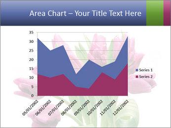 Bouquet of Purple Tulips PowerPoint Templates - Slide 53
