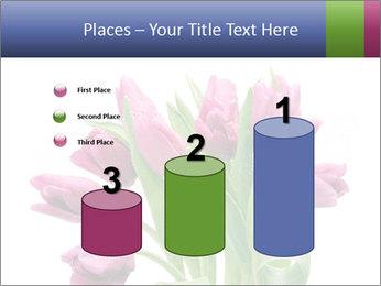 Bouquet of Purple Tulips PowerPoint Templates - Slide 65