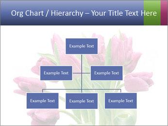 Bouquet of Purple Tulips PowerPoint Templates - Slide 66