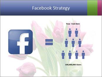 Bouquet of Purple Tulips PowerPoint Templates - Slide 7