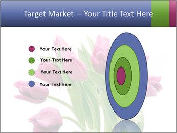 Bouquet of Purple Tulips PowerPoint Templates - Slide 84