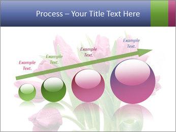 Bouquet of Purple Tulips PowerPoint Templates - Slide 87