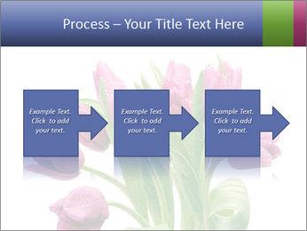 Bouquet of Purple Tulips PowerPoint Templates - Slide 88