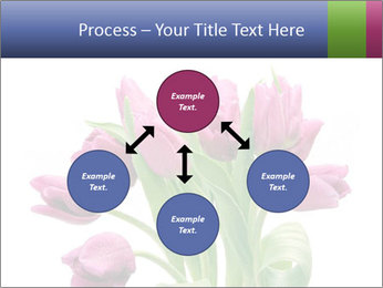 Bouquet of Purple Tulips PowerPoint Templates - Slide 91