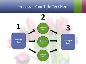 Bouquet of Purple Tulips PowerPoint Templates - Slide 92