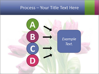 Bouquet of Purple Tulips PowerPoint Templates - Slide 94