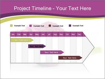 Wet Purple Tulip PowerPoint Templates - Slide 25