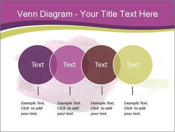 Wet Purple Tulip PowerPoint Templates - Slide 32