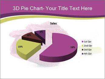 Wet Purple Tulip PowerPoint Templates - Slide 35