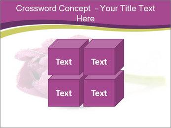Wet Purple Tulip PowerPoint Templates - Slide 39
