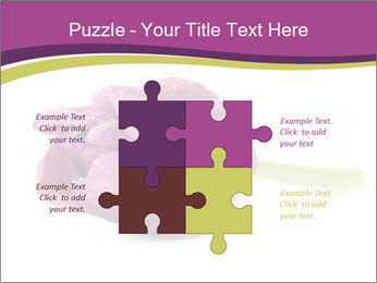 Wet Purple Tulip PowerPoint Templates - Slide 43