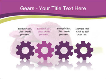 Wet Purple Tulip PowerPoint Templates - Slide 48