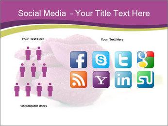 Wet Purple Tulip PowerPoint Templates - Slide 5