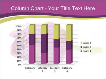 Wet Purple Tulip PowerPoint Templates - Slide 50