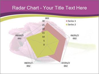 Wet Purple Tulip PowerPoint Templates - Slide 51