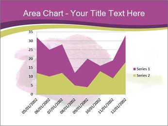 Wet Purple Tulip PowerPoint Templates - Slide 53