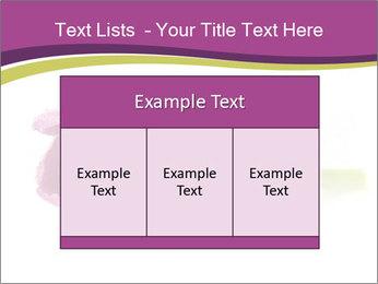 Wet Purple Tulip PowerPoint Templates - Slide 59