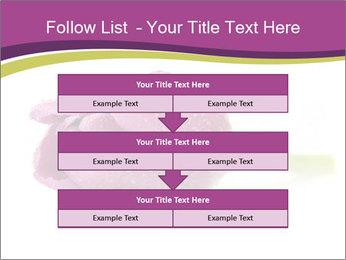 Wet Purple Tulip PowerPoint Templates - Slide 60
