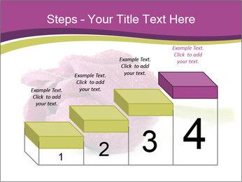 Wet Purple Tulip PowerPoint Templates - Slide 64