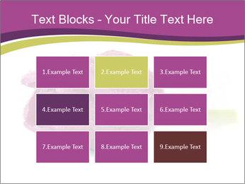 Wet Purple Tulip PowerPoint Templates - Slide 68