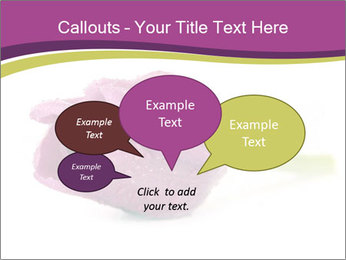 Wet Purple Tulip PowerPoint Templates - Slide 73