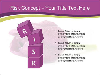 Wet Purple Tulip PowerPoint Templates - Slide 81
