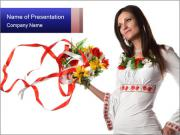 Ukrainian Folk Fashion PowerPoint Templates