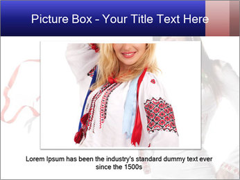 Ukrainian Folk Fashion PowerPoint Template - Slide 15